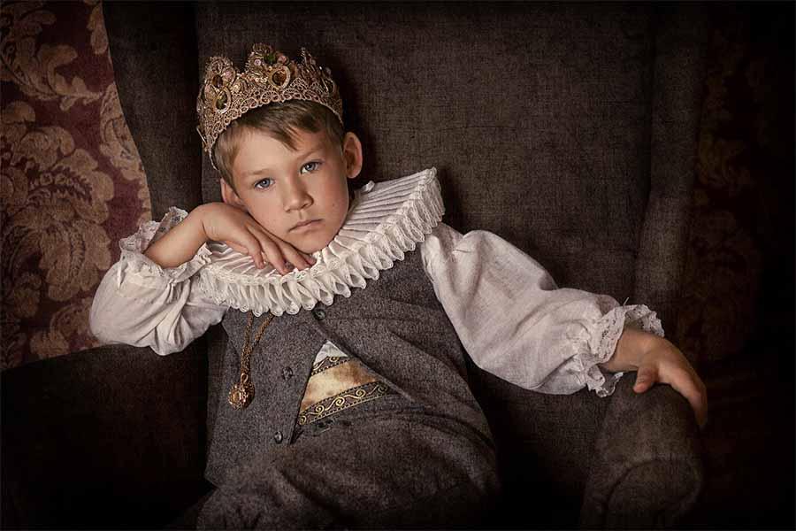 Un niño real de la Edad Media. Fuente: liyasov / Adobe Stock