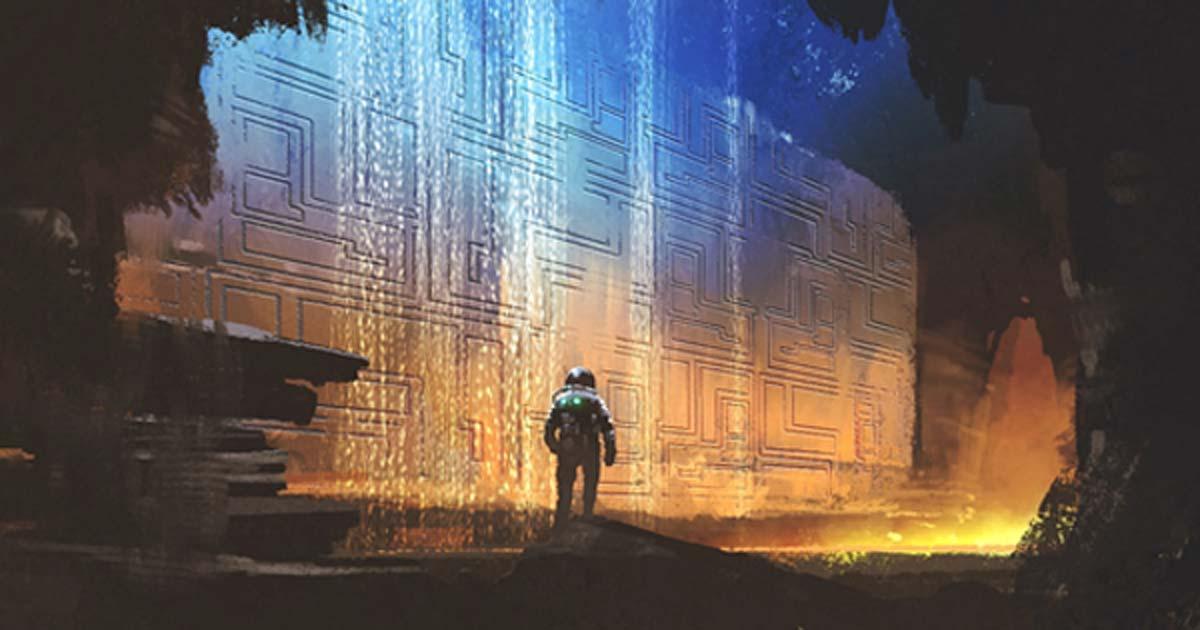 Arte conceptual de un antiguo astronauta (grandfailure / Adobe Stock)