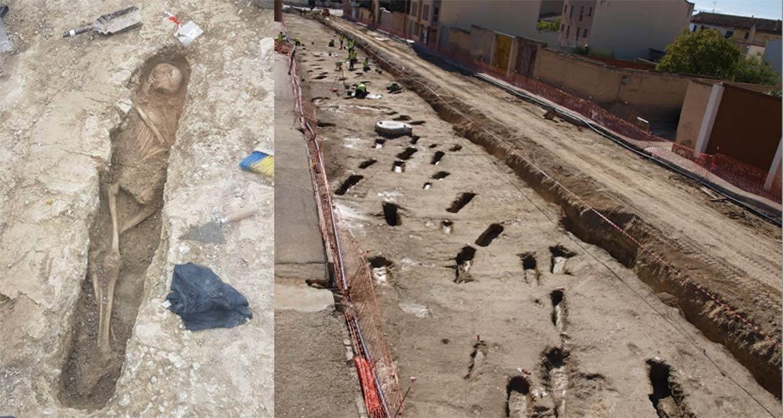 Los arqueólogos han desenterrado más de 400 antiguas tumbas musulmanas en una ciudad española.