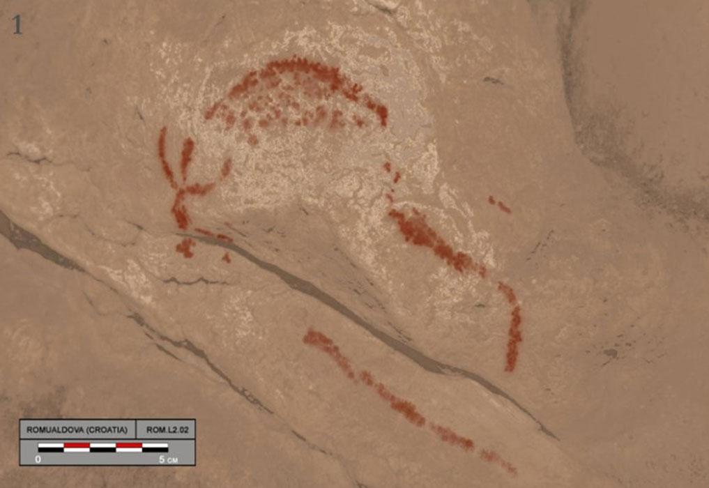 Rastreo digital de Bison en arte rupestre.