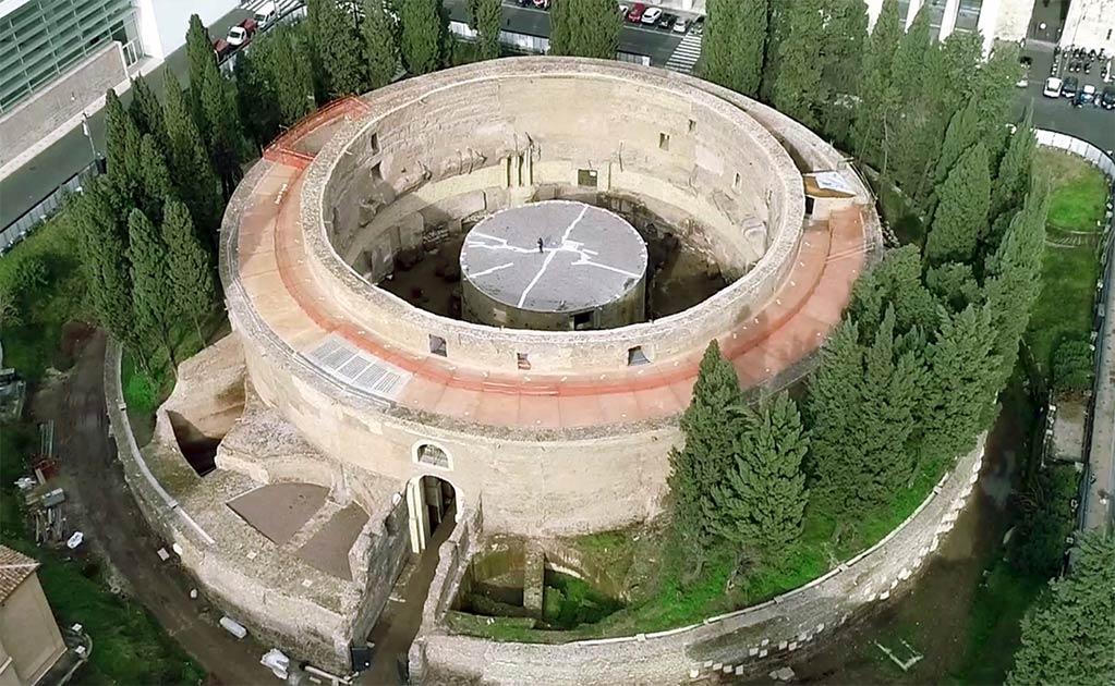 La tumba de Augusto se reabrirá al público en marzo de 2021.