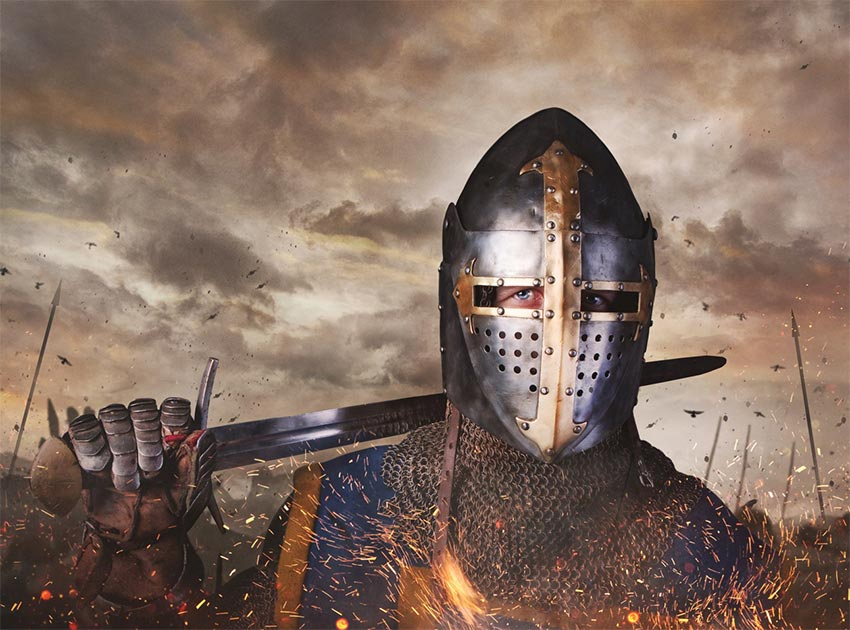 La batalla de Agincourt se libró entre Francia e Inglaterra en 1415. Fuente: Fxquadro / Adobe Stock.