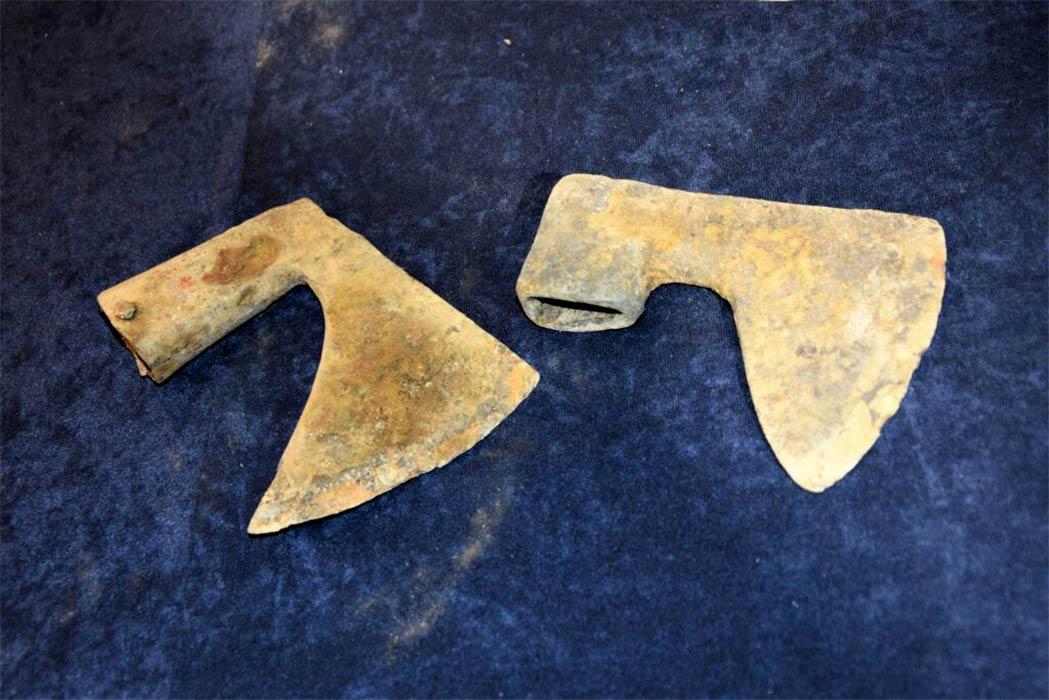 Se han descubierto hachas de batalla de la Batalla de Grunwald durante un barrido realizado por detectores de metales voluntarios en Polonia.
