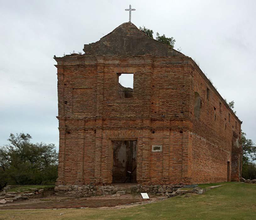 La iglesia en Calera de las Huérfanas Fuente: Fedaro / CC BY-SA 3.0