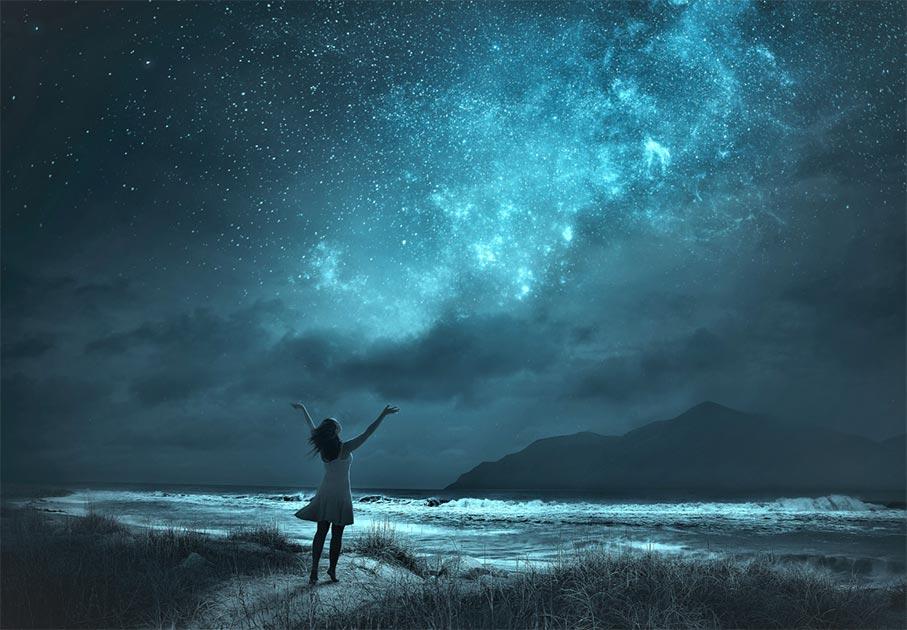 el interés de Carolina Herschel por la astronomía la llevó a ser la co-descubridora del universo. Fuente: Raisondtre / Adobe Stock.