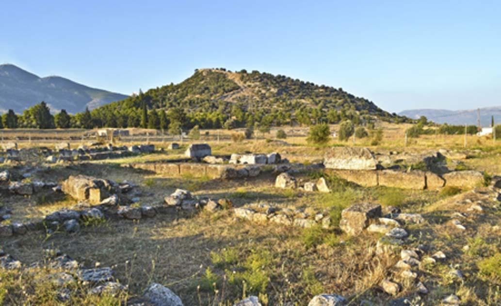 Paisaje de la antigua ciudad de Eretria, Eubea, Grecia. Fuente: photo_stella / Adobe Stock