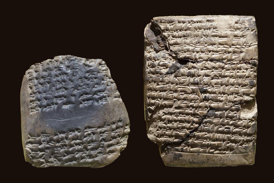 tabletas cuneiformes (imagen representativa) Fuente: dimamoroz/ Adobe Stock
