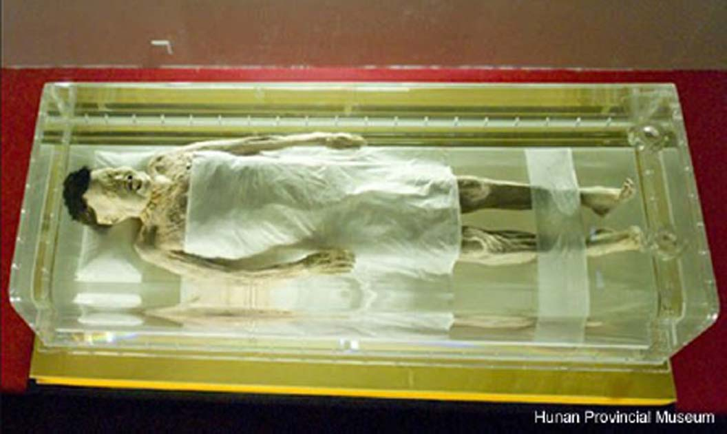 La Dama de Dai. Crédito de la foto: Museo Provincial de Hunan