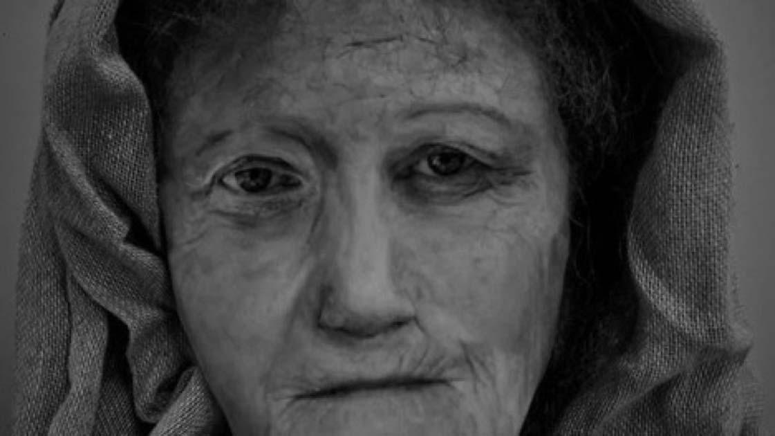 Una reconstrucción digital de 'Hilda', la druida femenina, por la estudiante de MSC Forensic Art Karen Fleming. Fuente: Universidad de Dundee.