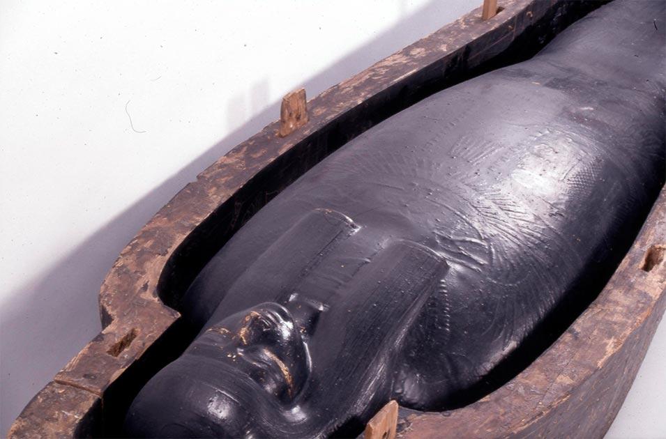 Se ha analizado el uso de negro usado en entierros egipcios. Fuente: © The Trustees of the British Museum / CC BY-NC-SA 4.0