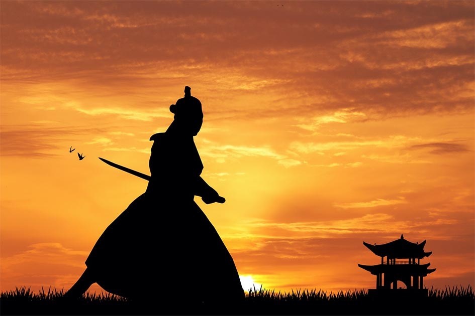 Representación del samurai inglés, William Adams. Fuente: adrenalinapura / Adobe stock