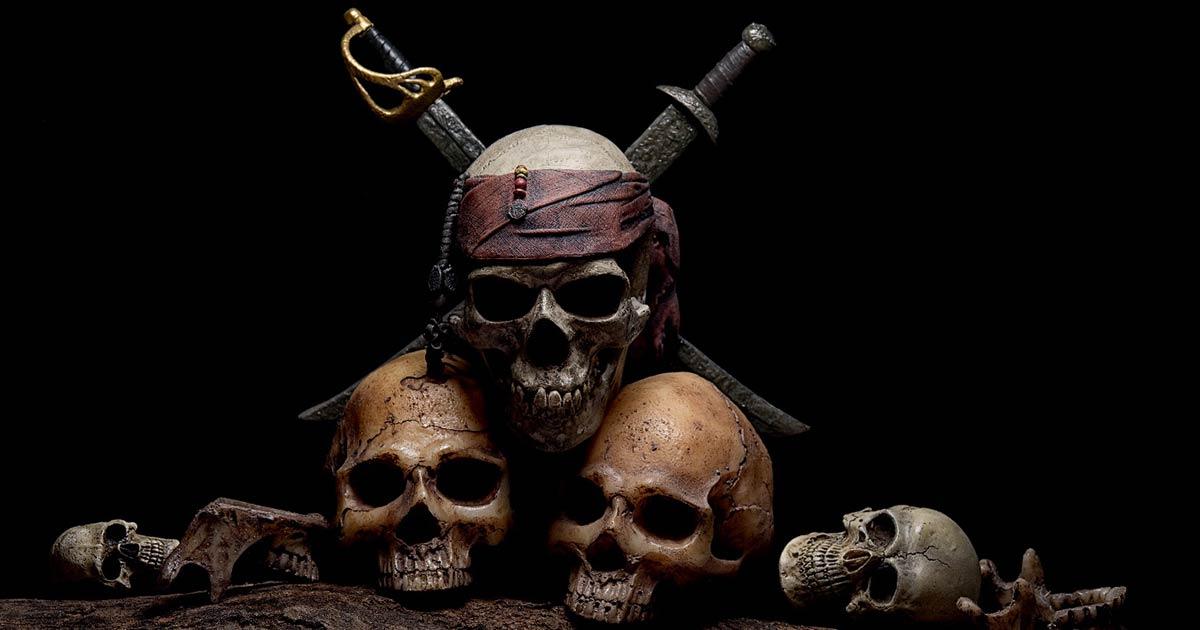 Piratas famosos de todo el mundo que aterrorizaron los mares en busca de oro y gloria.