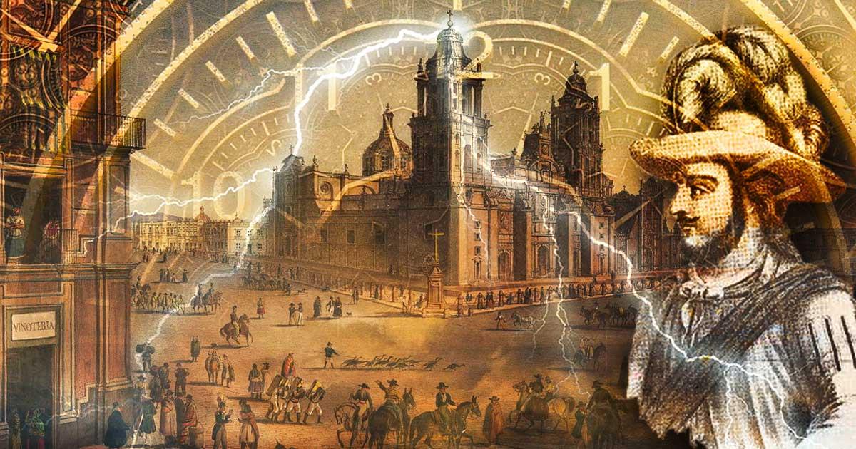 Gil Pérez (Cogitz/Wordpress), Plaza Mayor, Ciudad de México (Wikimedia Commons), Vieje en el tiempo (Max Pixel)