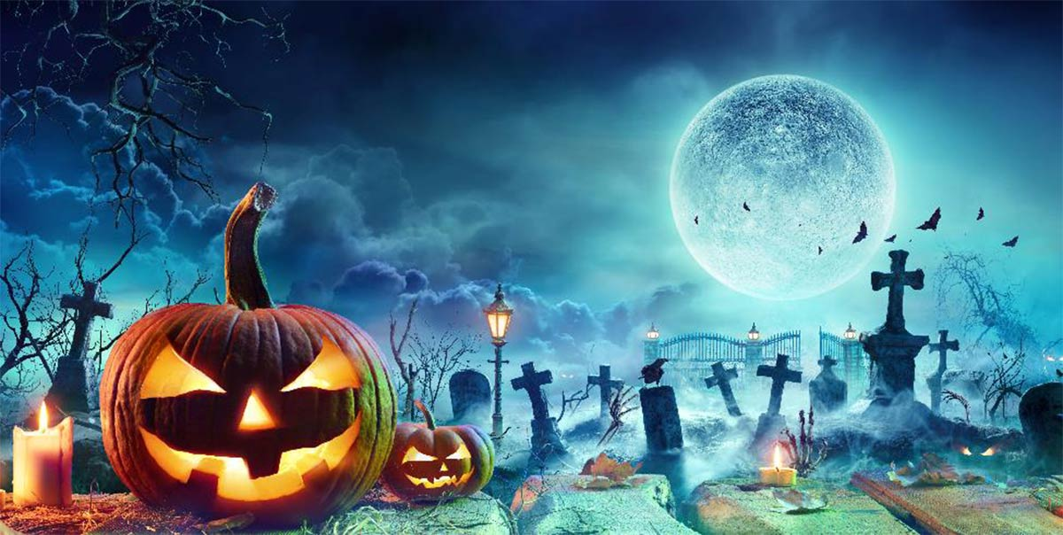 Luna llena de Halloween.