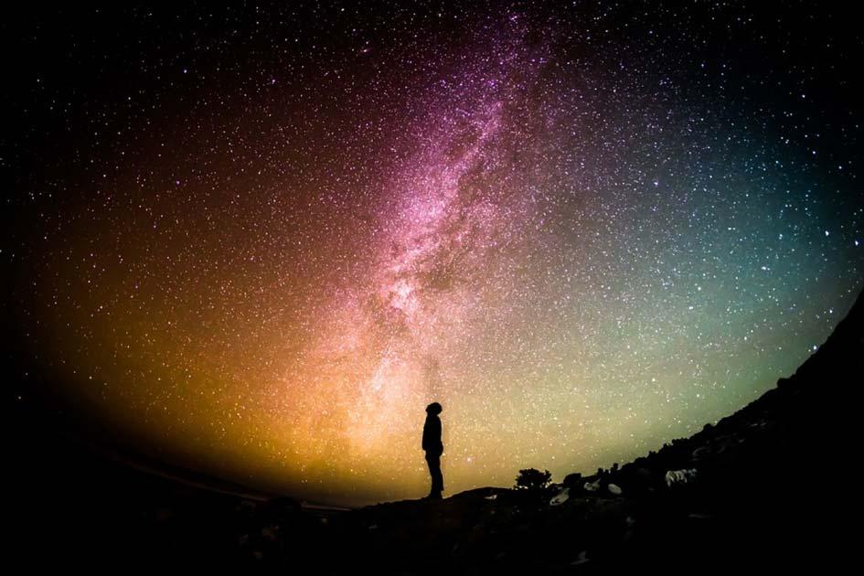¿La naturaleza única de nuestra evolución significa que estamos solos en el universo? Fuente: CC0