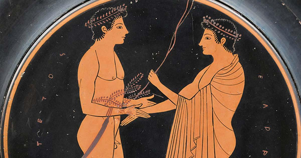 La verdadera razón por la que a los hombres en las representaciones clásicas se les dio una virilidad pequeña