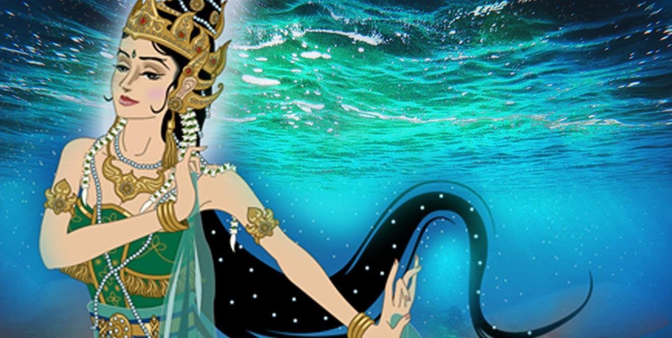 Deriv; Kanjeng Ratu Kidul, la Reina del Mar del Sur de Java. (CC BY-SA 3.0)