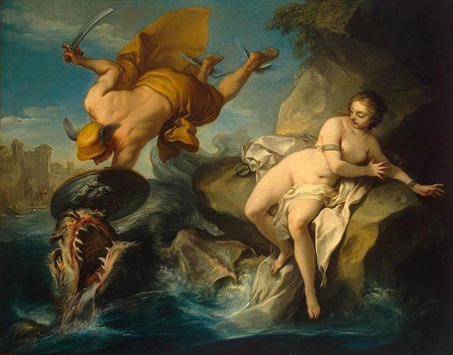 Perseo y Andrómeda (Dominio público)