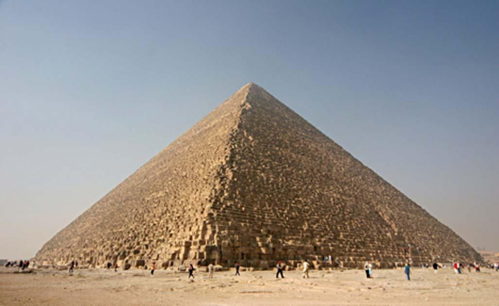 ¿Fue la Gran Pirámide construida con tecnología de sonido en mente? Fuente: © Andrew Collins