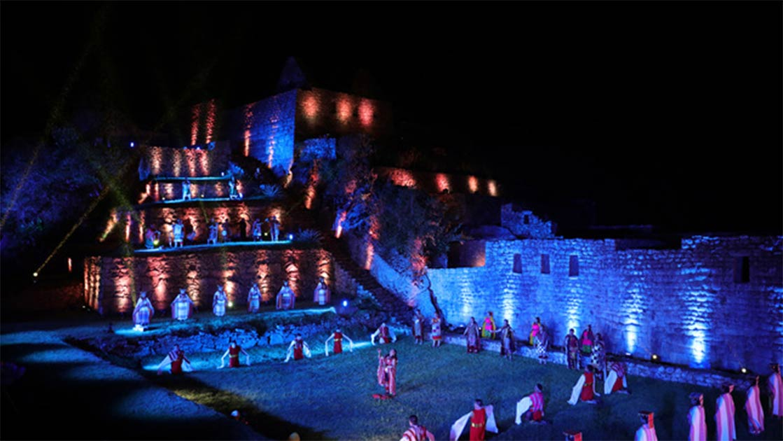 Ceremonia de reapertura de Machu Picchu el 01 de noviembre de 2020 ( Ministerio de Comercio Exterior y Turismo)