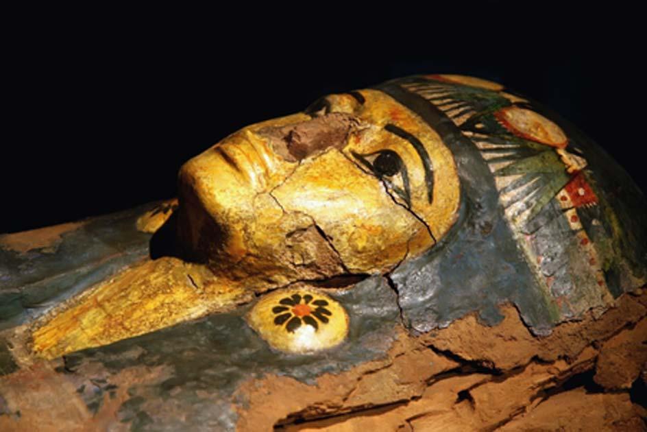 Se ha encontrado el mapa de almas egipcio más antiguo en el texto del ataúd de una mujer. Fuente: : Boggy / Adobe Stock