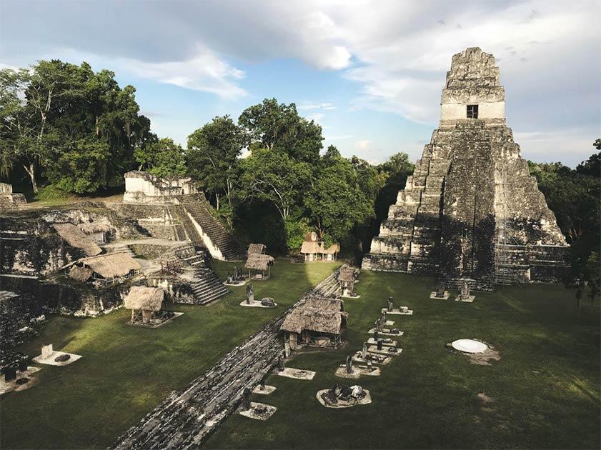 Tikal creció gracias a los innovadores sistemas de purificación de agua Maya.