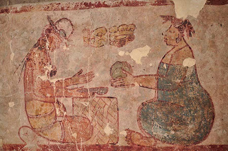 Antigua fábrica sumergida revela una moneda de sal maya