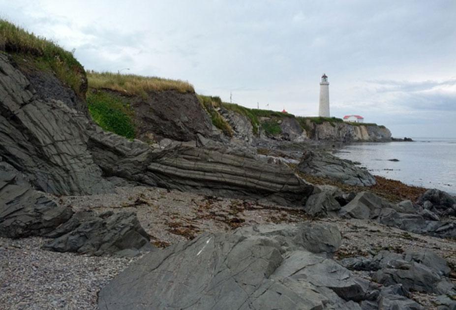 La costa del naufragio de Carricks de 1847 en la playa de Cap-Des-Rosiers en Quebec. Fuente: Amqui / CC BY-SA 2.0.