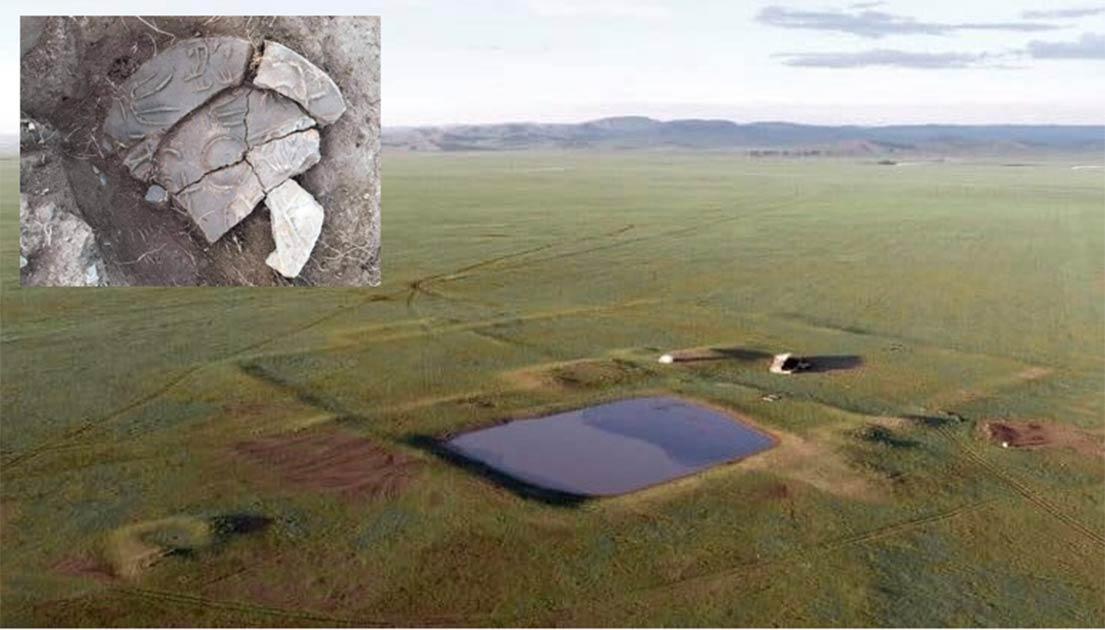 El paisaje de la remota Mongolia, donde se descubrió recientemente la ciudad nómada Dragón del Imperio Xiongnu. Fuente: Iderkhangai Tumur-Ochir / Heritage Daily