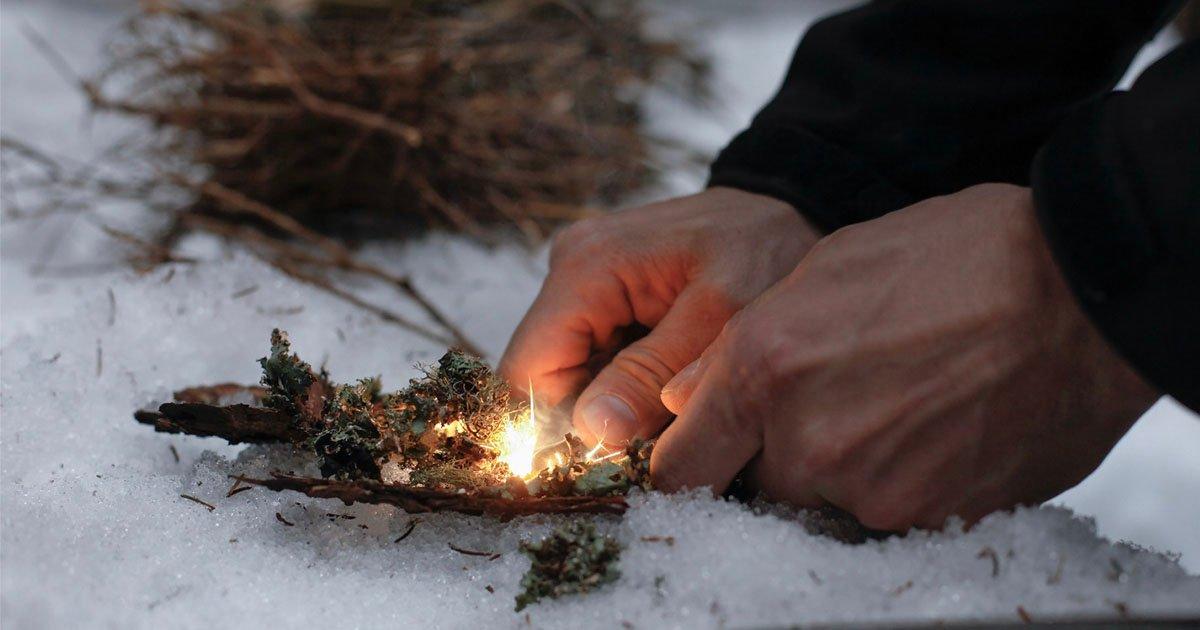Un explorador polar moribundo intentó quemar sus propias heces para sobrevivir.