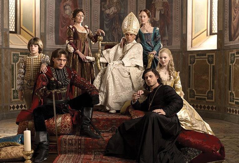 "El Papa Alejandro VI inspiró la miniserie de Showtime ""Los Borgias"", protagonizada por Jeremy Irons como Rodrigo Borgia, también conocido como Alejandro VI"