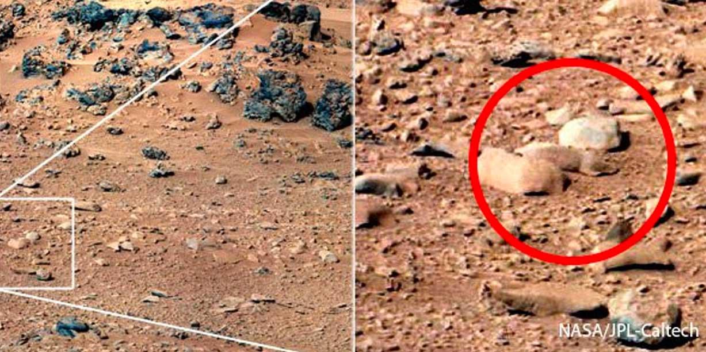 La Rata de Marte y Otras Características Inexplicables en el Planeta Marciano