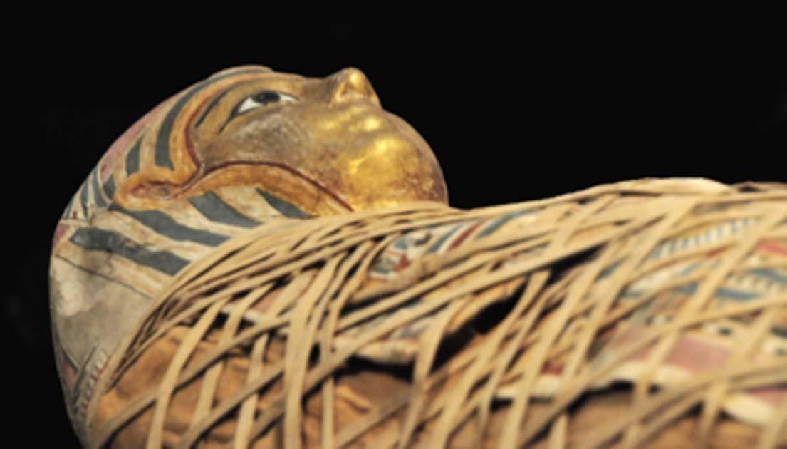 Representación del sarcófago de la princesa Hatshepset. Fuente: Denis Doukhan / Dominio público.