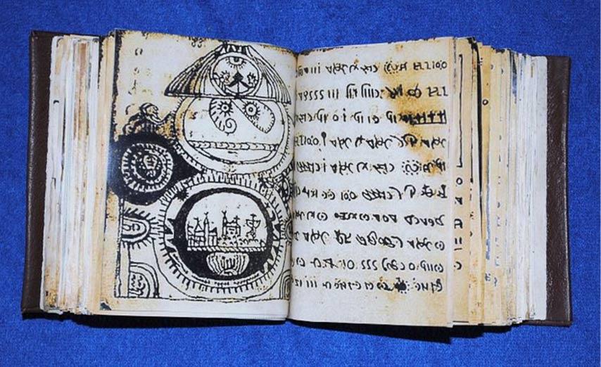 una copia del códice Rohoc (no el original). Dominio publico