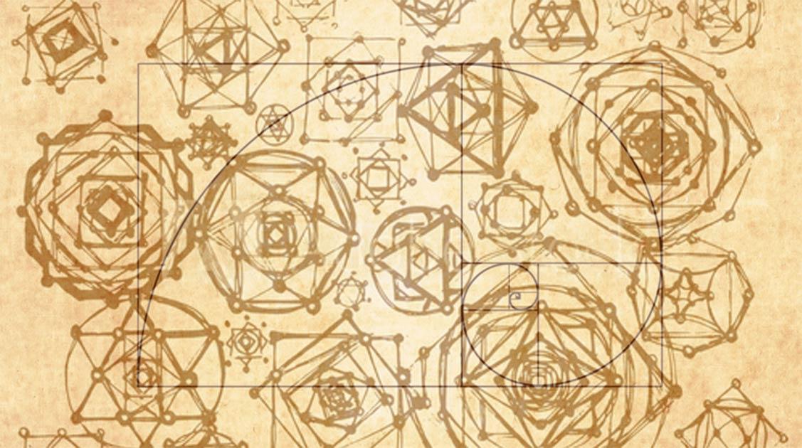 La geometría sagrada deduce que ciertas formas y proporciones geométricas contienen un significado sagrado. La aplicación de la geometría sagrada se puede encontrar en muchas civilizaciones de todo el mundo. Fuente: ekaart / Adobe Stock / Sacred Geometry Spiral (lightaspect / Adobe Stock)