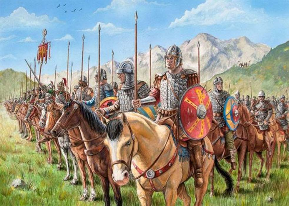 Bizancio sobrevivió a las invasiones árabes desarrollando un nuevo sistema de defensa.