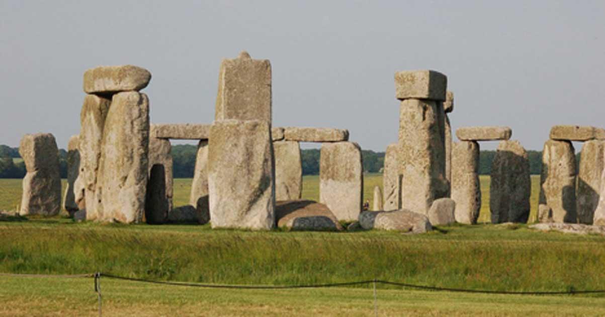 Stonehenge podría haberse construido con la ayuda de grasa de cerdo. Fuente: dominio público