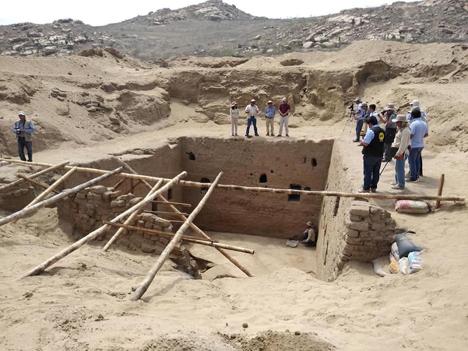 Tumba Inca Contiene los Restos de Niños sacrificados en Perú