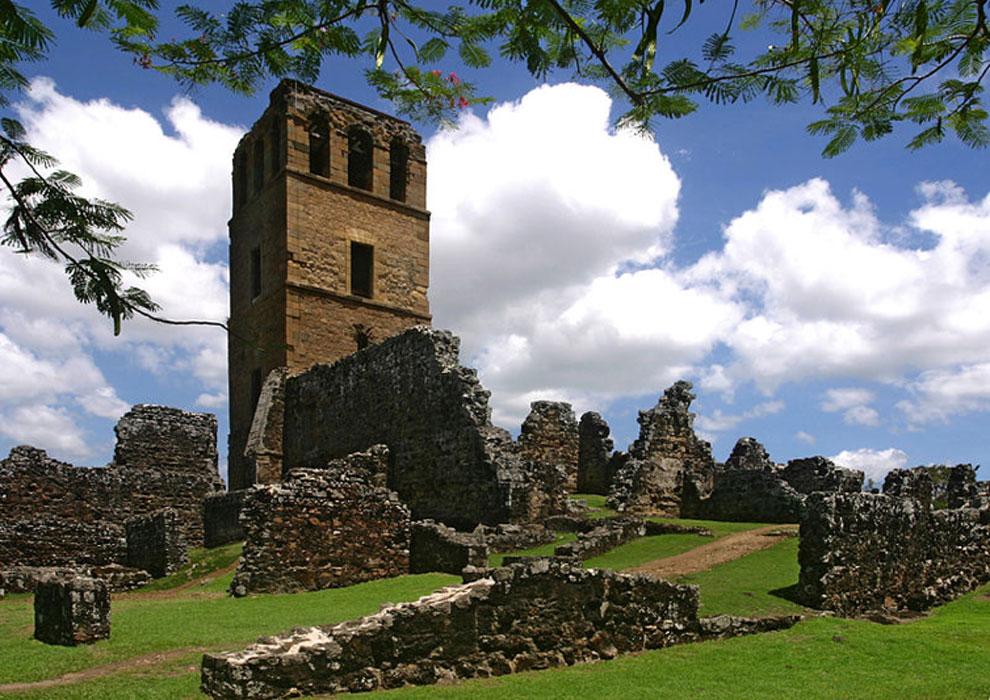 Catedral de Nuestra Señora de la Asunción, Vieja Panamá Fuente: Aragundi, R / CC BY SA 2.0