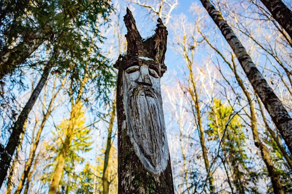 Ídolo pagano eslavo de la deidad de Veles que está relacionada con la reencarnación y más tarde se convirtió en santos cristianos que eran deidades cojas o pastores lobos.