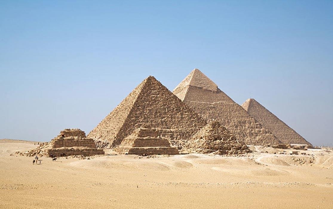 Todas las pirámides de Giza de una sola vez. (CC BY-SA 2.0)