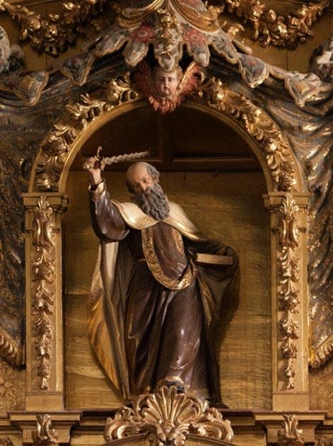 Una figura del profeta Elías en Santa Teresa de Ávila, España. (Lawrence OP / CC BY-NC-ND 2.0)