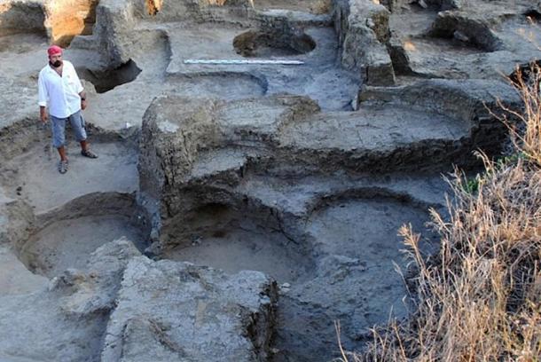 Restos de las murallas de las antiguas fortificaciones de Fanagoria. (The Art Newspaper)