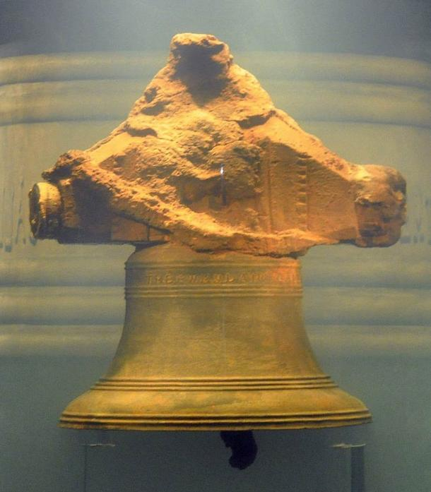 La campana de la cocina (comedor) del barco pirata Whydah. (jjsala / CC BY 2.0)