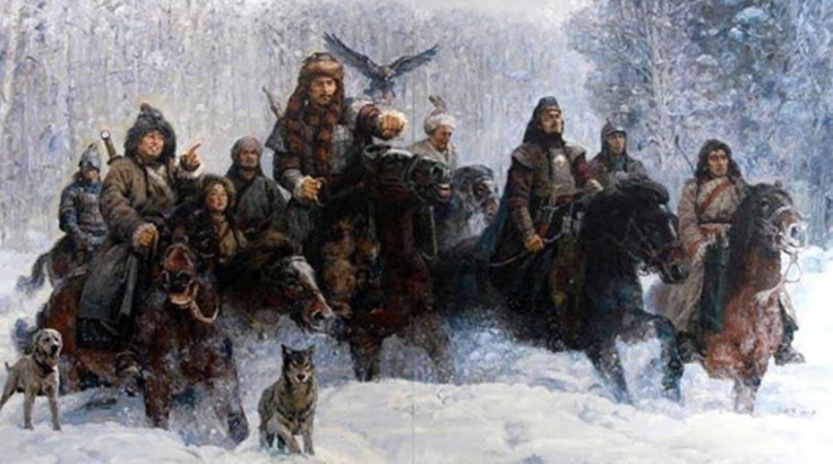 La genética ancestral del Extremo Oriente puede rastrearse hasta un pequeño número de hombres poderosos. Los nómadas Xiongnu de Mongolia. (Museo de Henan)