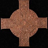 Elemental Celtic Cross Plaque