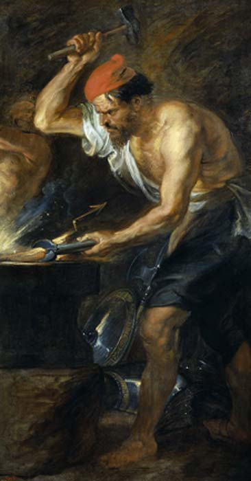 Hefesto era el dios de los herreros y herrero de los dioses. (Shuishouyue / Dominio público)