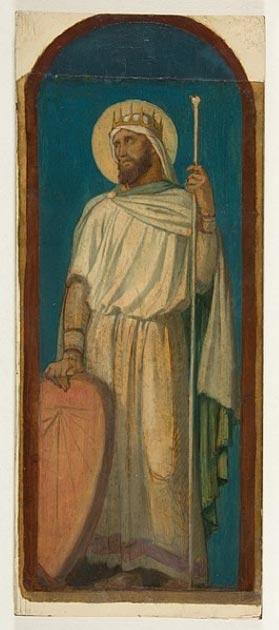 Ezequías, rey de Judá. (Hippolyte Flandrin / Dominio público)