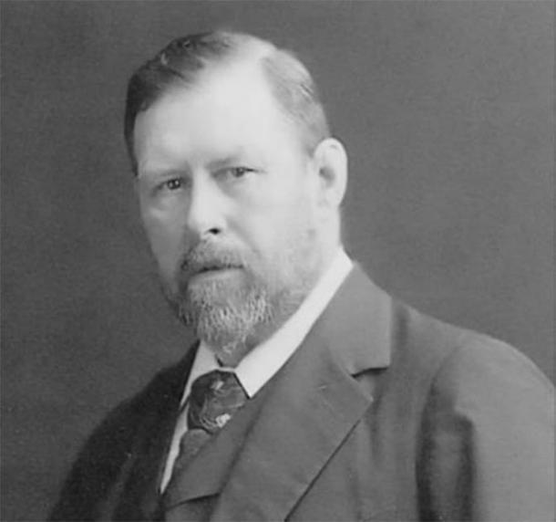 Bram Stoker, autor de las novelas 'Drácula' (1897) y 'La joya de las siete estrellas' (1903), entre muchas otras. Crédito: dominio público