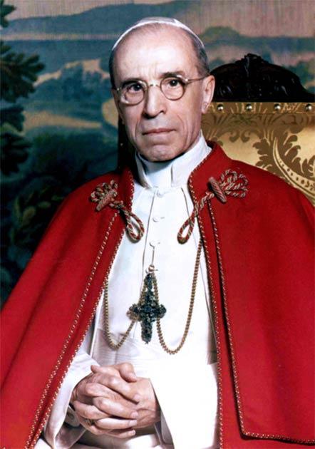 Eugenio Pacelli El Papa Pío XII inició la investigación oficial sobre la tumba de Pedro. (Michael Pitcairn / Dominio público)